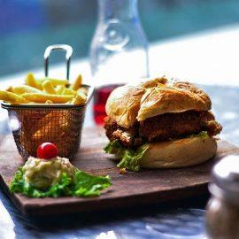 Heute gibts Burger im Bosenheimer Bad