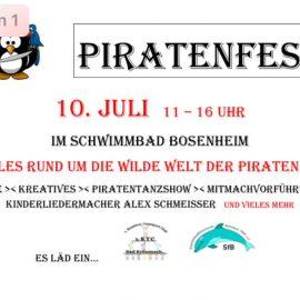 Piratenfest am 10. Juli 2021